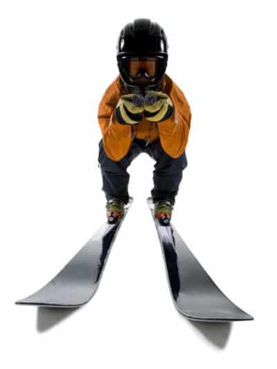 skieur schuss